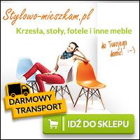 Kup meble z darmową dostawą w stylowo-mieszkam.pl
